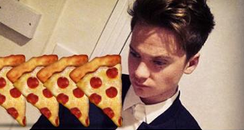 Conor Maynard Pizza Tweet