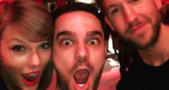 Taylor Swift Calvin Harris Birthday Instagram