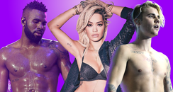 Jason Derulo, Rita Ora and Justin Bieber