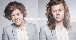 Harry Styles Then And Now