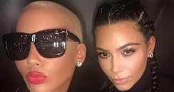 Kim Kardashian-West and Amber Rose