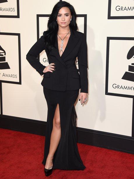 Demi Lovato at the Grammy Awards 2016