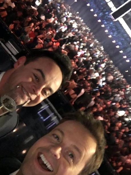 Ant & Dec Brits 2016 Selfie