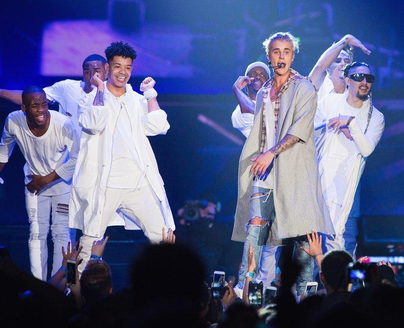 Justin Bieber Opening Night Purpose Tour 2016