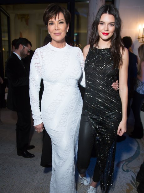 Kris Jenner and Kendall Jenner Editorialist Spring
