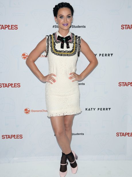 Katy Perry at charity event