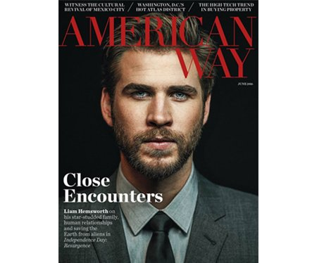 Liam Hemsworth cover of American Way