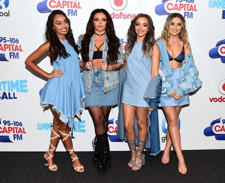 Little Mix Summertime Ball 2016 Red Carpet