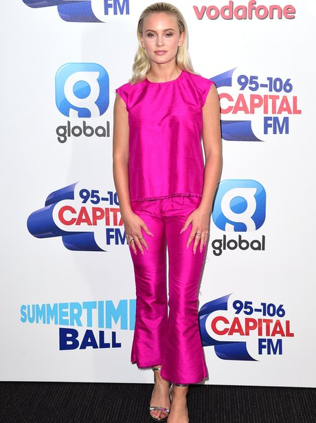 Zara Larsson Summertime Ball 2016 Red Carpet