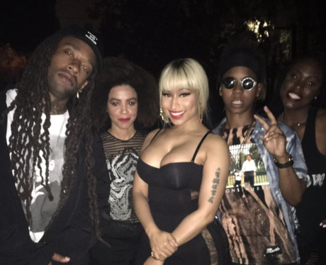 Nicki Minaj and Ty Dolla $ign hang out