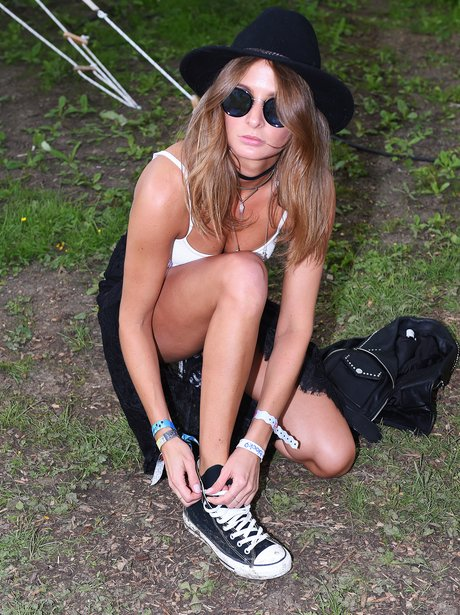 Millie Mackintosh at Glastonbury 2016