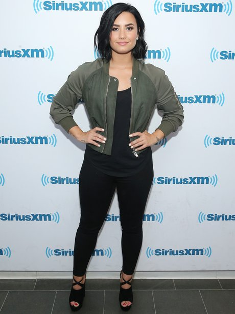 Demi Lovato at SiriusXM
