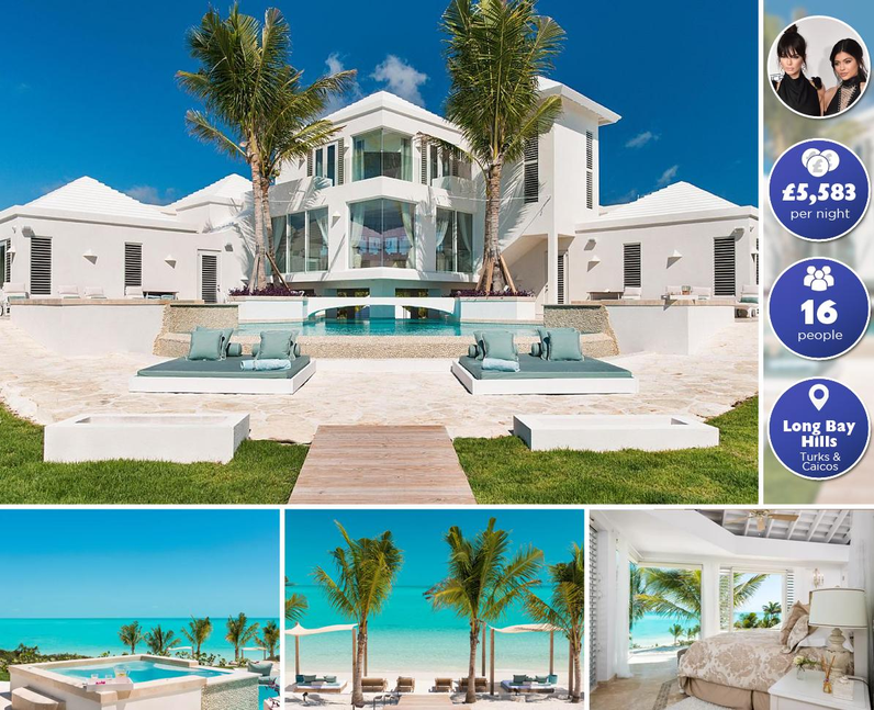 Kendall  & Kylie Jenner Airbnb