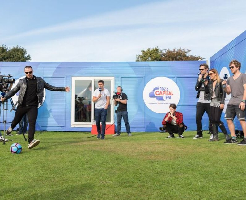 Busted Fusion festival 2016 Backstage