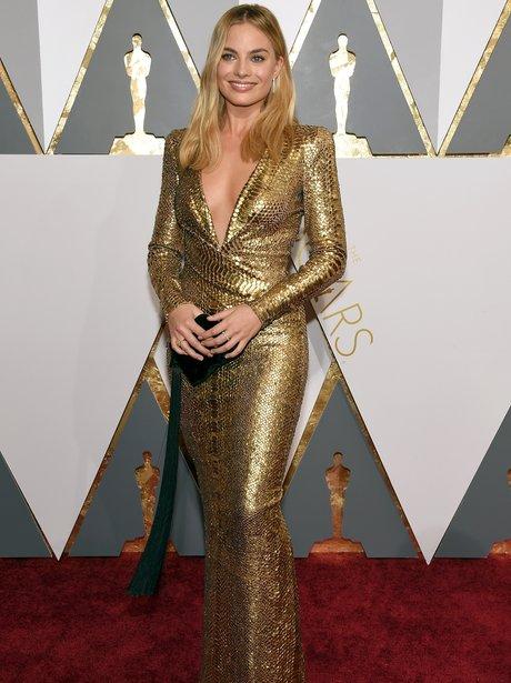 Margot Robbie The Oscars 2016