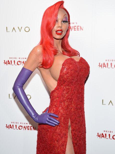 Celebs Who Go All Out For Halloween Heidi Klum