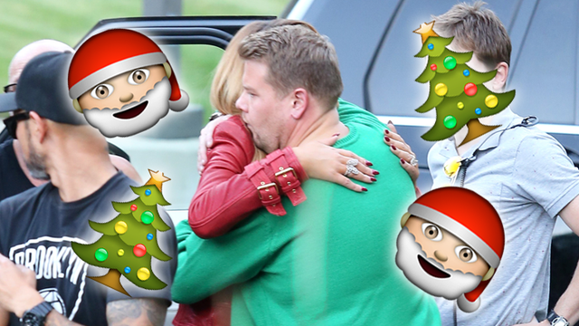 SPOTTED: Mariah Carey Is Set To Join James Corden For A Carpool Karaoke Christmas Special