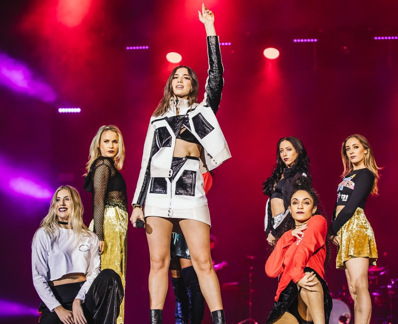 Dua Lipa  Jingle Bell Ball 2016 performance
