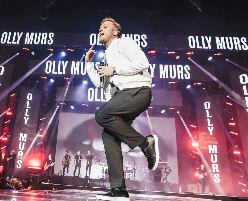 Olly Murs Jingle Bell Ball 2016