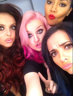 Little Mix show off new hair